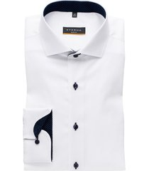 eterna overhemd wit oxford kwaliteit slim fit