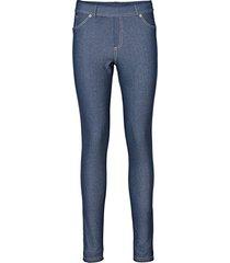 leggings effetto jeans (blu) - rainbow