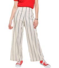 pantalón natural desiderata stripe