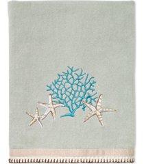 avanti beachcomber cotton embroidered bath towel bedding