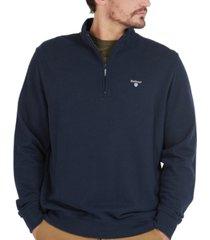barbour men's bankside quarter-zip sweater