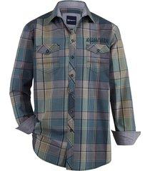 overhemd babista groen::beige