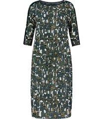jurk ottoman groen