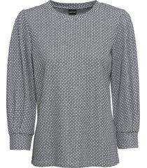 maglia fantasia con lurex (bianco) - bodyflirt