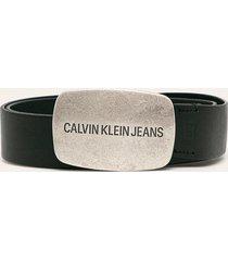 calvin klein jeans - pasek skórzany