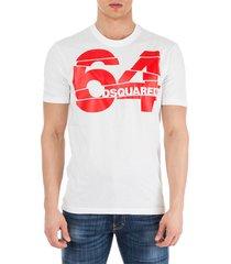 men's short sleeve t-shirt crew neckline jumper 64
