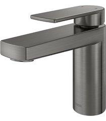 misturador monocomando para banheiro mesa bica baixa argon grafite escovado - 00847770 - docol - docol