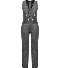 balmain paris jumpsuit