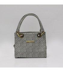 bolso estampado gris para mujer vent bolso vent_a-estampado gris-u