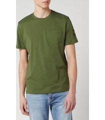 belstaff men's thom t-shirt - olive - xxl