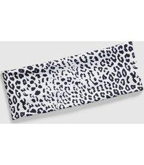 lane bryant women's opposites attract wide headband onesz leopard