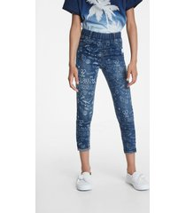 jeggings with bolimania graffiti - blue - 13/14