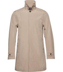 pierce overcoat trenchcoat lange jas beige lexington clothing