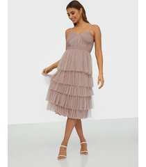 anaya tiered cami midi dress skater dresses