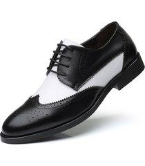 hombre oxford zapatos brogues zapatos de vestir de novia de negocios