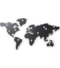 dekoracja ścienna organizer mapa świata