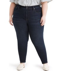 madewell skinny jeans, size 22w in orland wash at nordstrom