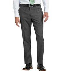 lauren by ralph lauren men's gray sharkskin classic fit suit separates pants - size: 56
