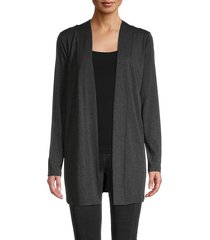 saks fifth avenue women's iconic-fit cardigan - black - size s