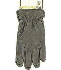 m&f western h2110401 men's hdx deerskin gloves black small
