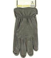 m&f western h2110401 men's hdx deerskin gloves black small