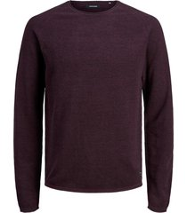 jack & jones trui aubergine plus size