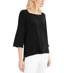 alfani square-neck blouse, created for macy's