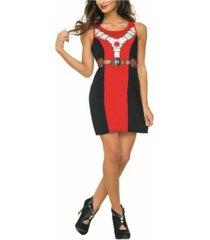 buyseason women's deadpool 2 classic deadpool tank dress