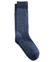 jos. a. bank diamond mid-calf socks, 1-pair