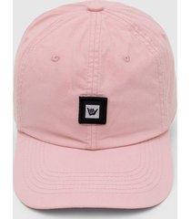 bonã© hang loose logo rosa - rosa - masculino - dafiti