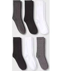 women's comfort crew socks, pack of 6