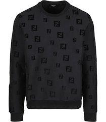 fendi evening chenille sweatshirt