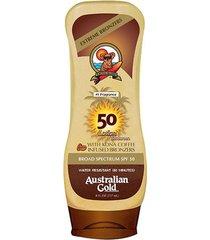 protetor e bronzeador australian gold kona coffee instant bronzer spf 50 237ml