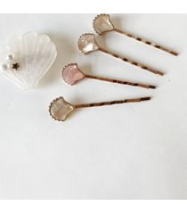 soho style ultimate shell hair clip and bobby pin five-piece set
