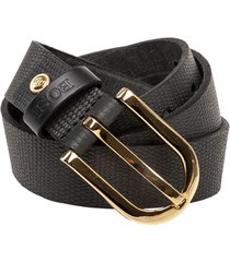 cinturón 606 negro bosi