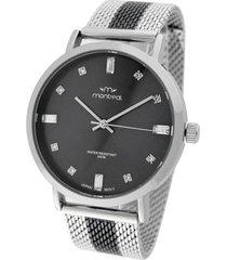 reloj plata montreal combinado