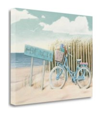 "tangletown fine art beach cruiser ii crop by james wiens giclee print on gallery wrap canvas, 35"" x 28"""