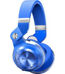 audifonos diadema inalambrico bluedio t2s hurricane azul