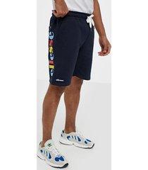 ellesse el cassano fleece short shorts navy