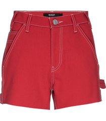 hudson women's carpenter cotton shorts - jasper - size 26 (2-4)