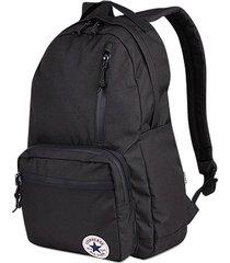 mochila negra converse go backpack