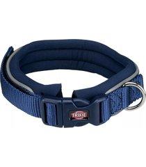 trixie collar premium perros neopreno azul talla l