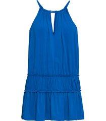 top con arricciature (blu) - bodyflirt