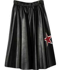 monnalisa black skirt monnalisa