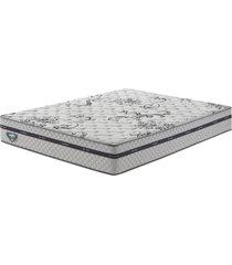 colchão casal com molas superlastic grand support ii branco 138x188x25 - ecoflex