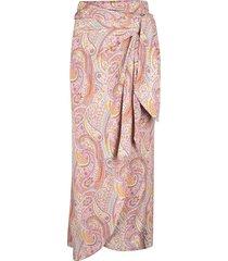 falda pareo estamapdo paisley