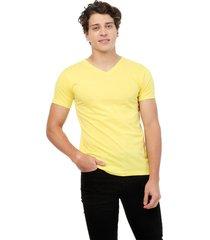 camiseta amarilla manpotsherd t-shirt