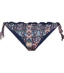 bikinitrosa blossom triangle bikini bottom