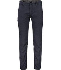 hugo boss pantalon donkerblauw