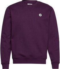 tye sweatshirt sweat-shirt trui paars wood wood